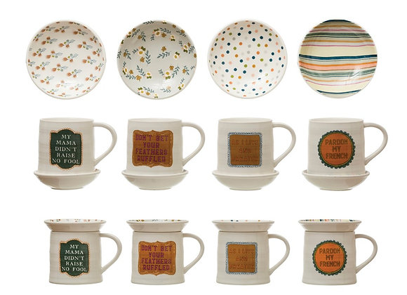 Mug w/ Snack Plate
