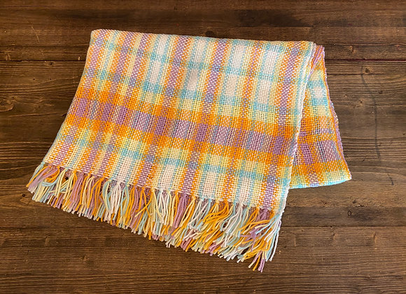 Hand-Woven Baby Blanket
