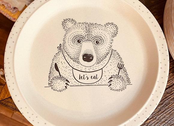Kid's Bamboo Plate