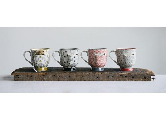 Mug w/Tea Bag Holder