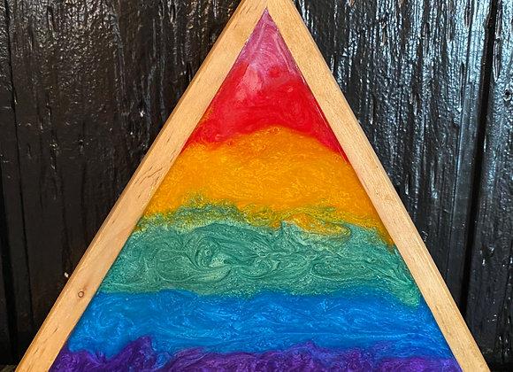 Resin Rainbow Symbol