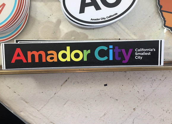 Amador City Sticker
