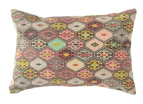 Dhurrie Large Lumbar Pillow