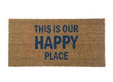 Happy Place Door Mat