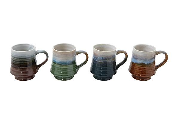 Stoneware Glazed Mug