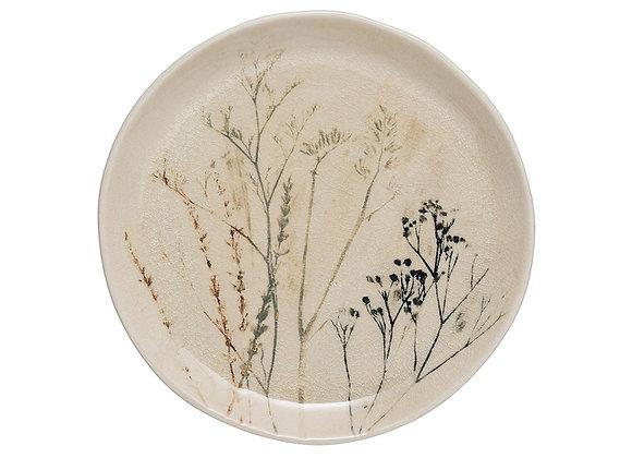 """Debossed Stoneware Plate (8"""")"""