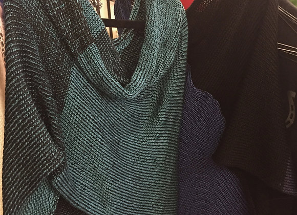 Knitted Bamboo Capelet