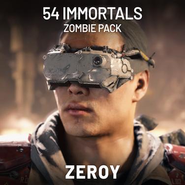 54 Immortal Zombies