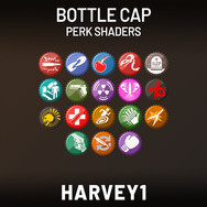 Bottle Cap Perk Shaders