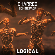 Charred Zombie Pack