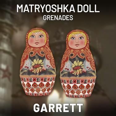 Matryoshka Doll Grenades