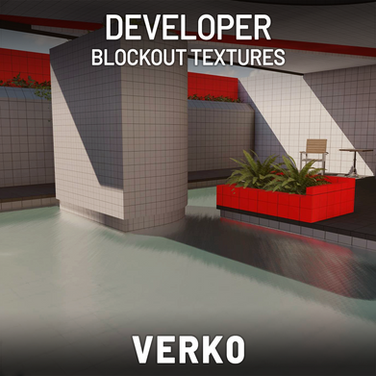 Developor Block Out Texture Pack