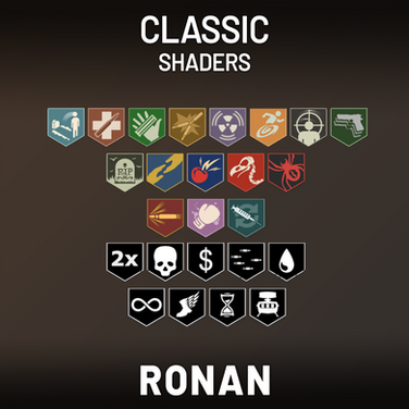 Classic Perk & Power Up Shaders