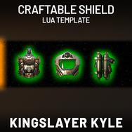 Custom Craftable Shield Lua Template
