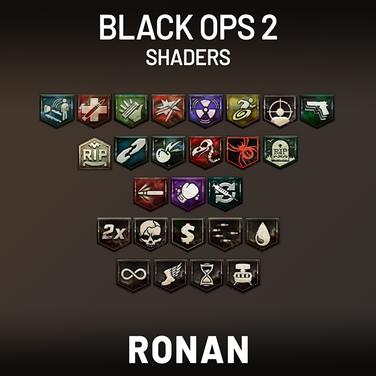 Black Ops 2 Perk & Power Up Shaders