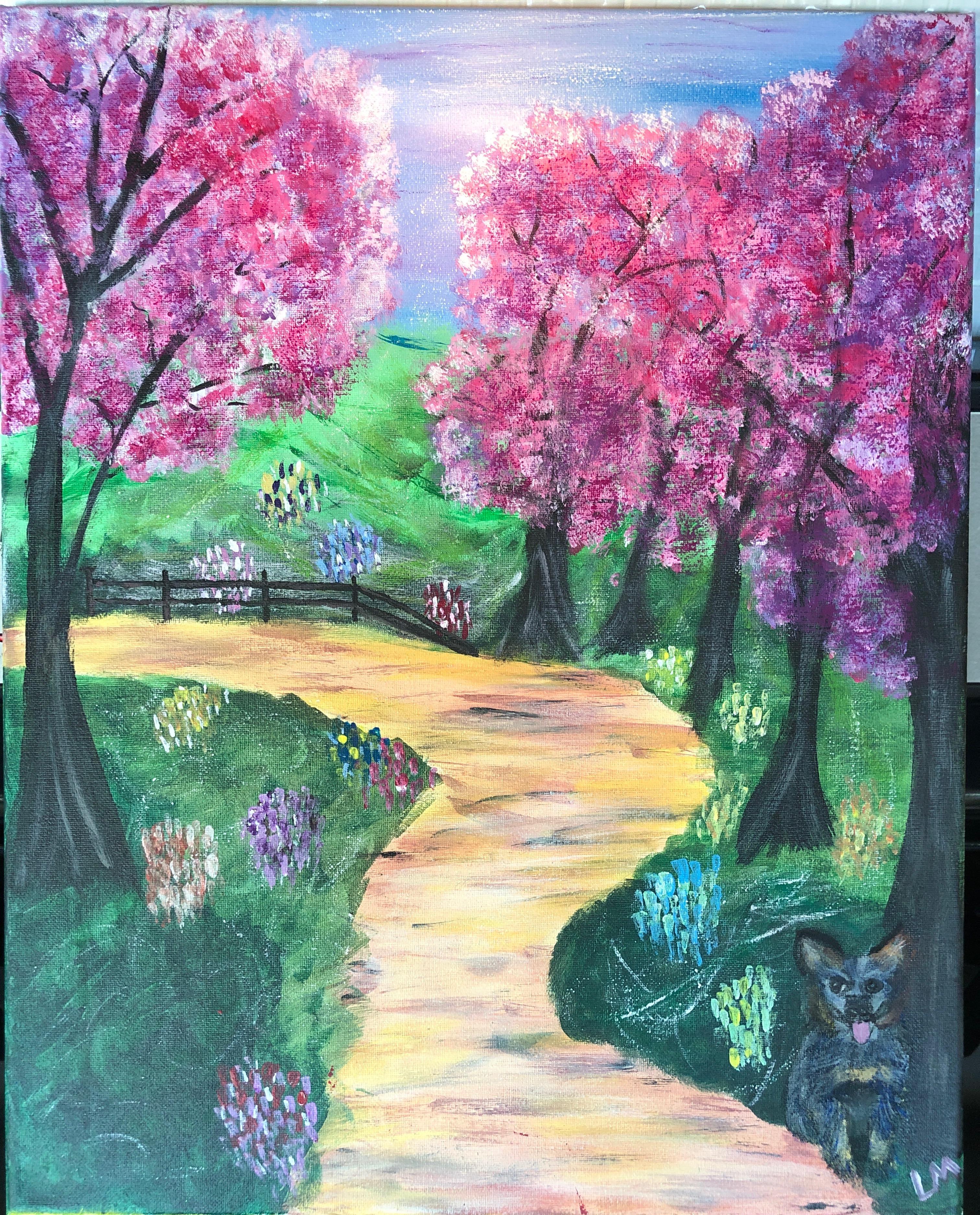 A spring stroll