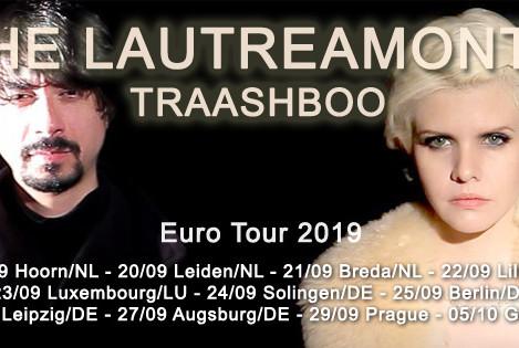 The Lautreamonts anuncia turnê pela Europa