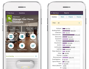 HomeZada-Home-Inventory-Dashboards-and-R