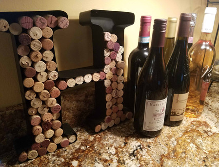 Your wine corks collection