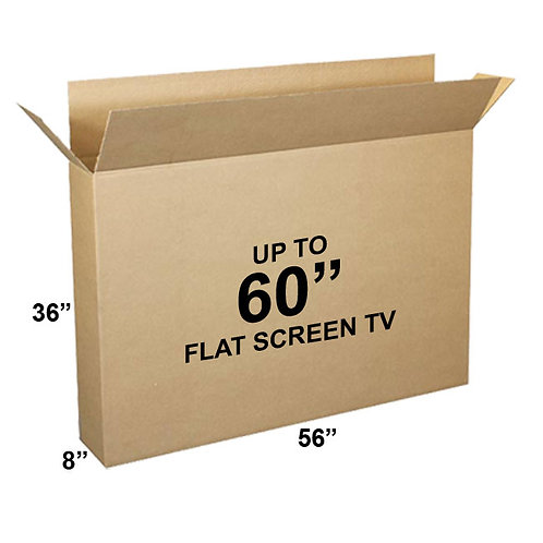 "1 Television Box holds 50""-60"" TV (46x36x8)"
