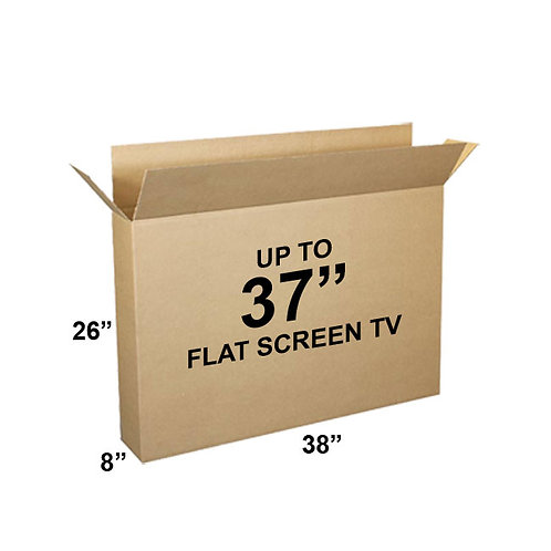 "1 Television Box holds 27""-37"" TV (38x26x8)"
