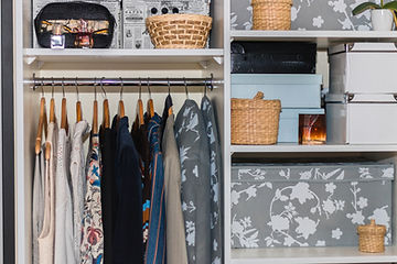 The wardrobe, closet in which everything