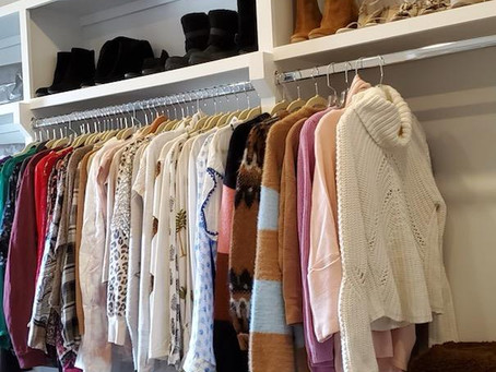 An organized closet brings a new sense of calm to any home. Eat your heart out Marie Kondo! :)