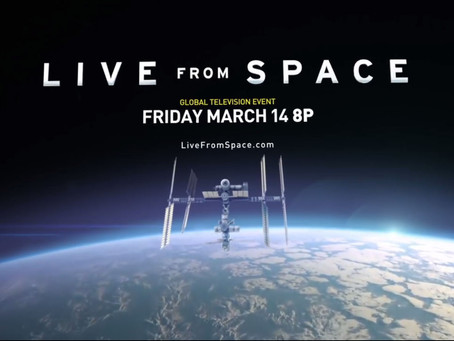 LIVE FROM SPACE: LAP OF THE PLANET
