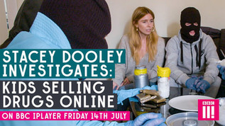 Stacey Dooley Motion graphics