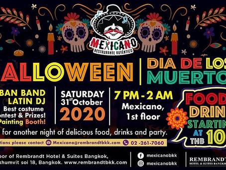 Dia De Los Muertos (Day of the dead) and Halloween party 2020