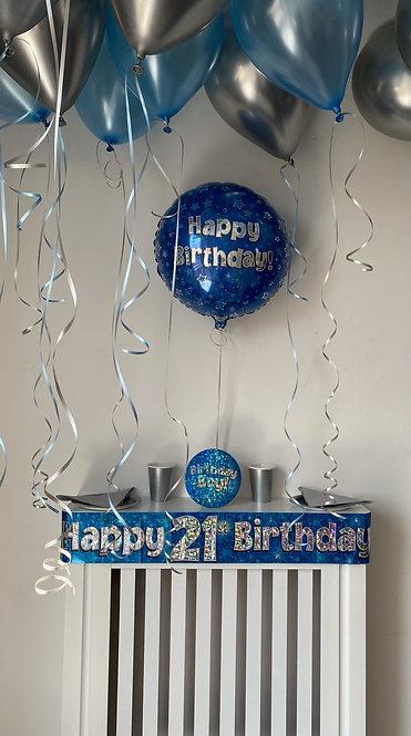 Boy 21st Birthday Box