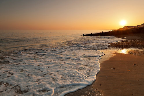 Sunset- Milford on Sea