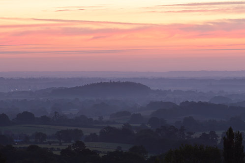 Old Hill at sunrise, Worcestershire