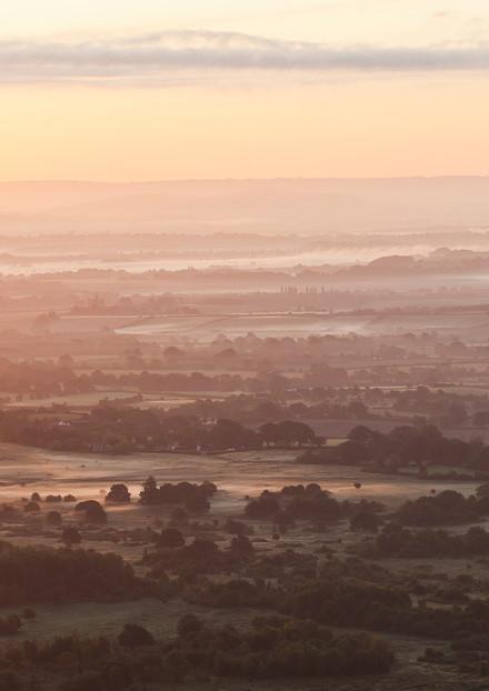 32 Sunrise over Southwestern Worcestersh