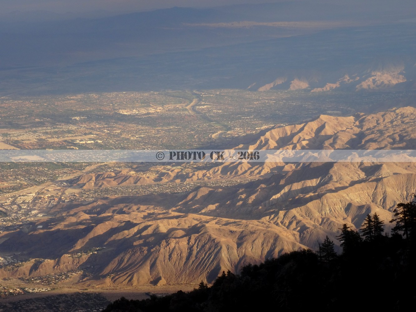 Palm Springs from St Jacinto