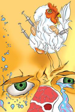 Chicken Hormonio