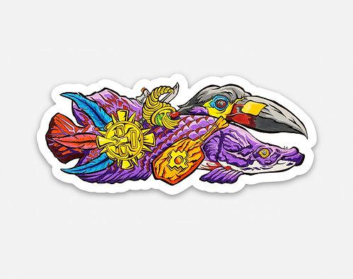 """Atahualpa's Arapaima 3"""" Sticker"""