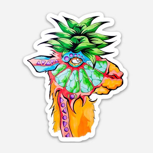 """Limey Llama 3"""" Sticker"""