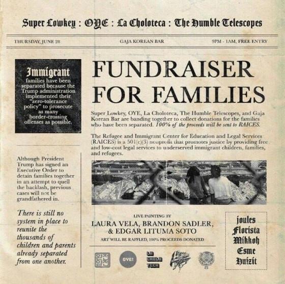 Fundraiser for Families