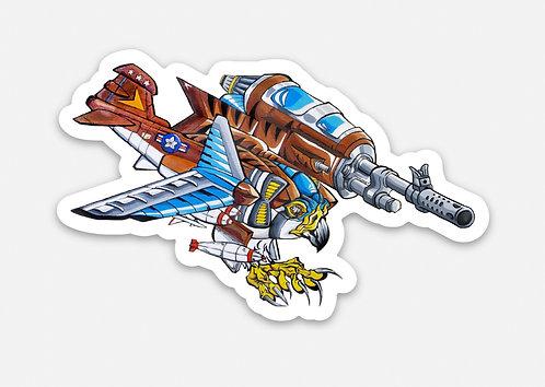 """Kestrel Jet 3"""" Sticker"""