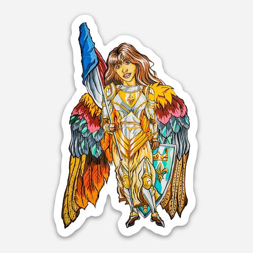 """Jean De Arc 3"""" Sticker"""