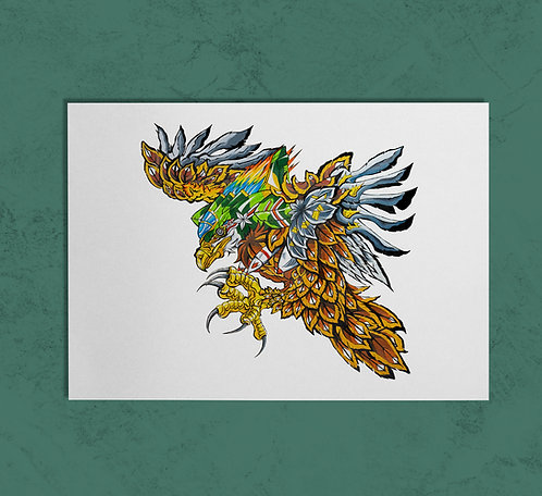 Bald Eagle14X11 PRINT