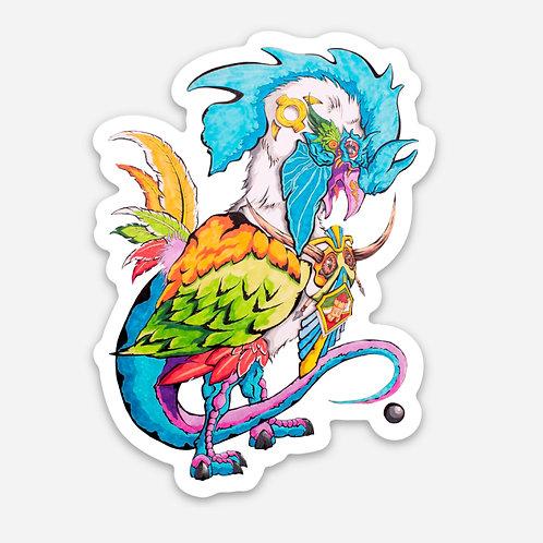 "Basilisco Chilote 3"" Sticker"