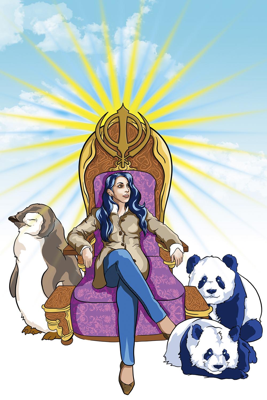 Sikh Queen