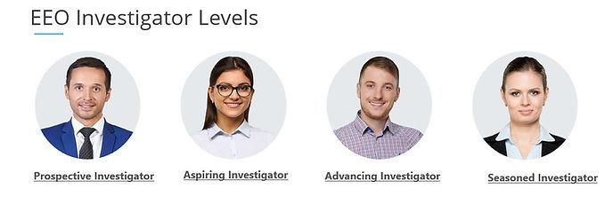 Investigator Levels