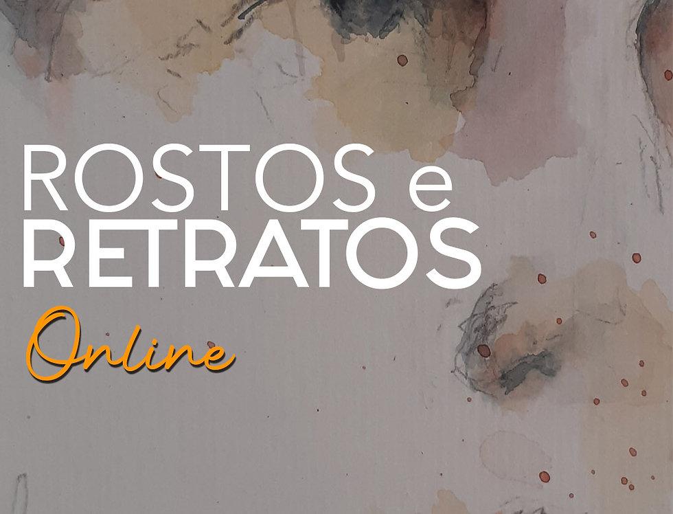 1 mês de curso de Desenho de Rosto Online