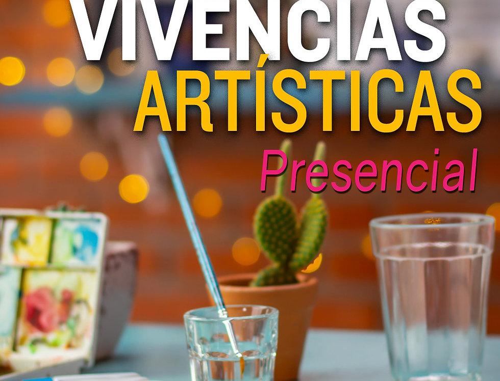 1 mês de curso de Vivências Artísticas Presencial