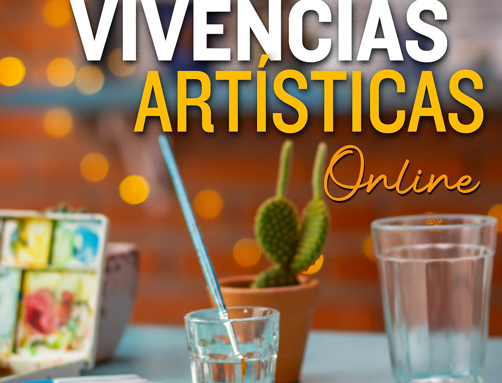 1 mês de curso de Vivências Artísticas Online