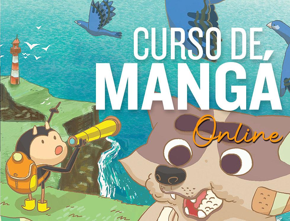 1 mês de curso de Mangá Online