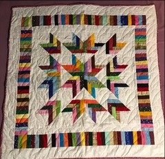 Colorful Quilt - Tablecloth